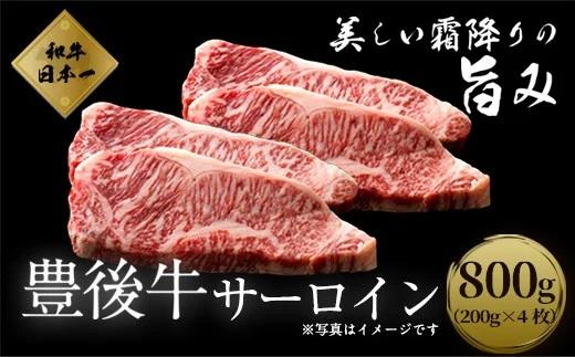 数量限定 大分県竹田市産おおいた和牛 サーロイン 【200g×4枚】